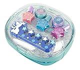 Disney Frozen/Die Eiskönigin/Geschenk-Set: Frozen Frost Nageltrockner + Nagellack-Set - für Kinder