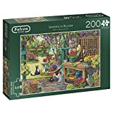 Falcon de luxe Garden in Bloom Jigsaw Puzzle (X-Large, 200-Piece)