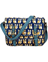 Premium Blue Color Designer Sling Bag For Women & Girls By Bagris GE01001778