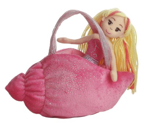 aurora-world-33038-sea-sparkle-conch-muscheltasche-23-cm-pink