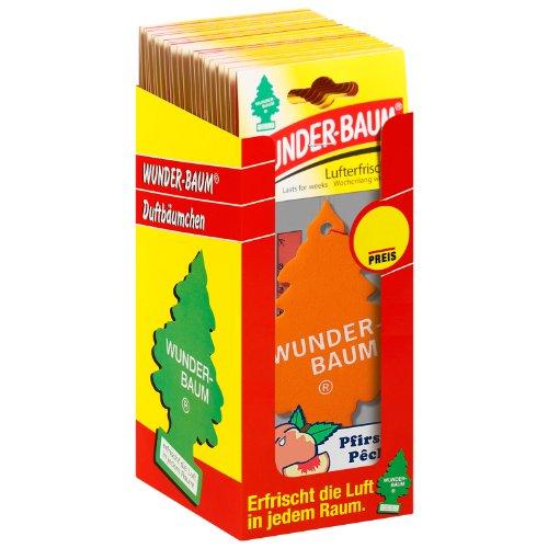 Wunder-Baum 134226/24 Lufterfrischer 24-er Box Pfirsich