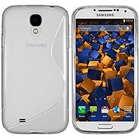mumbi S-TPU Schutzhülle für Samsung Galaxy S4 Hülle transparent weiss