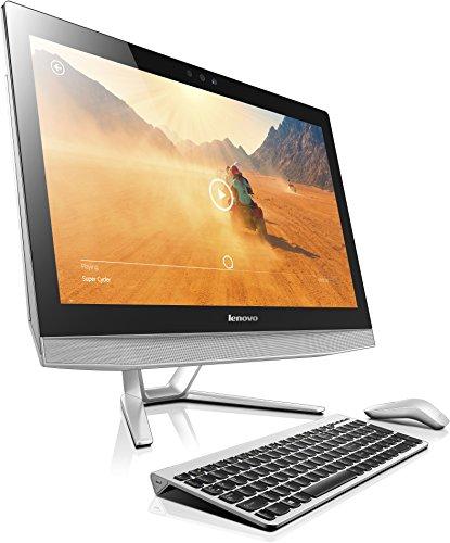Lenovo B50-30 60,5 cm (23,8 Zoll Full HD) All-in-One Desktop PC (Intel Core-i7-4785T, 8GB RAM, 1008GB SSHD, NVIDIA GeForce 840 A, DVD, Windows 8.1) silber -