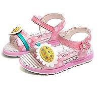 Sandalias niñas Verano ❤ Absolute Zapatos Sueltos Casuales de Flores para niña pequeños Zapatillas de
