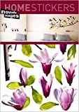 1art1 40084 Blumen - Magnolie Wand-Tatoos Aufkleber Poster-Sticker (70 x 50 cm)