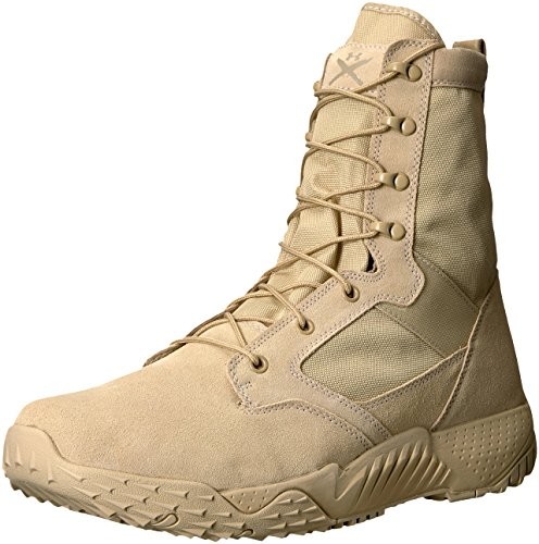 Under Armour Herren UA Jungle Rat Trekking-& Wanderhalbschuhe, Braun (Desert Sand 290), 48.5 EU