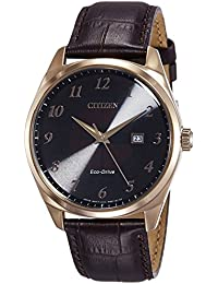 Citizen Analog Black Dial Men's Watch-BM7323-11E
