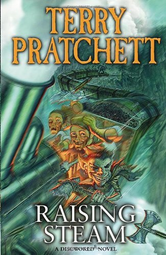 Cover of Raising Steam (Discworld 40)