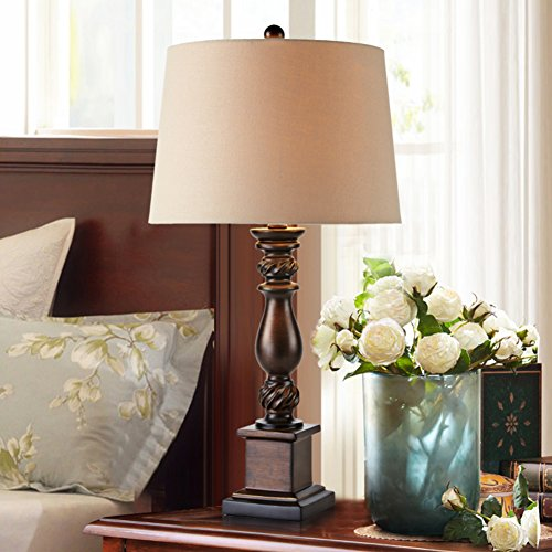 Creative dekoration tischleuchte Schlafzimmer nachttischlampe Village retro counter light Personalisierte beleuchtung -