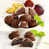 Madeira-Pflaumen in Zartbitterschokolade
