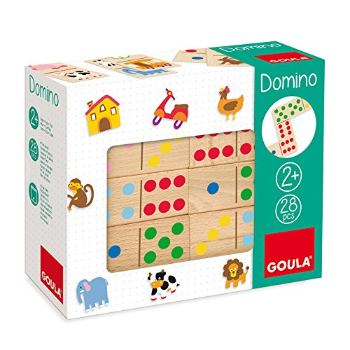 Jumbo Spiele D50263 - Domino Farben und Zahlen Puzzle