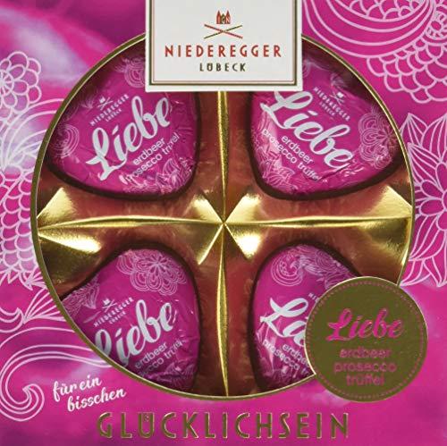"Preisvergleich Produktbild Niederegger Trüffel Herzen Erdbeer-Prosecco""Liebe"",  8er Pack (8 x 54 g)"