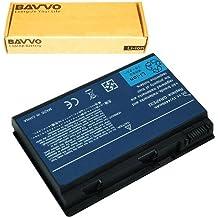 Bavvo Batería de Ordenador 6-células compatible con Acer Extensa 5210 5220 5620G 5620Z series Batería de Ordenador TM00741 TM00751, 11.1V