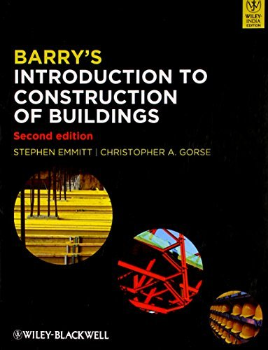 BARRYS INTRODUCTION TO CONSTRUCTION OF BUILDINGS 2ED (PB 2012): Written by EMMITT S., 2012 Edition, Publisher: WILEY [Paperback]