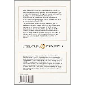 Panorama crítico del romanticismo español                                       . (LITERATURA Y SOCIEDAD. L/S.)