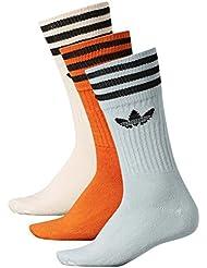 adidas Bh Socks Calcetines, Mujer, Multicolor (Lino / Vertac / Nartac), 35/38