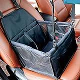 Car Boot per Cani Pet Carrier Pieghevole Cassa Cane con Mesh Traspirante e Tessuto Impermeabile Doppio Strato 40 * 30 * 25 Centimetri,Black