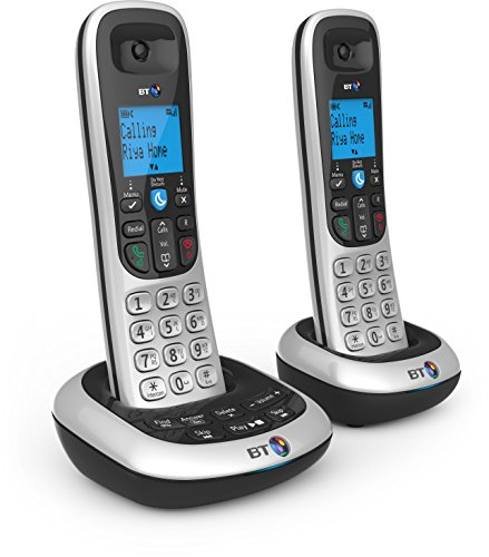BT 2700 Nuisance Call Blocker Cordless Home Phone with Digital Answer Machine - Twin Handset Pack