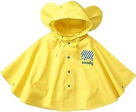 Baiyouli Kinder Regenjacke mit Kapuze Leichte Regenjacke für Jungen für Mädchen von 1-8 Jahren