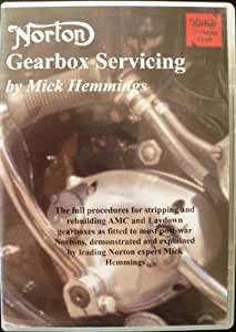 NORTON GEARBOX SERVICING by Mick HEMMINGS