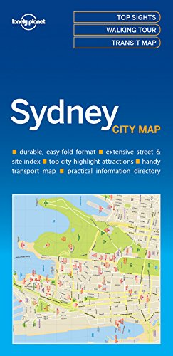 Lonely Planet Sydney City Map (Lonely Planet City Maps)