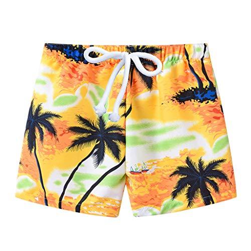 REALIKE Kinder Cool Kids Jungen Surf Kurze Hosen 3D Gedruckt Lustige Blumendruck Badehose Gestreift Liebe Schnell Trocknend Beachwear Sport Laufen Schwimmen Board Shorts