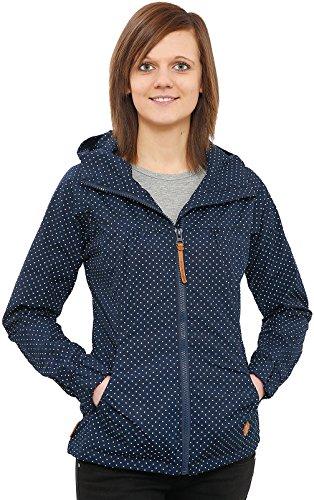 alife-kickin-black-mamba-jacket-damen-uebergangsjacke-marine-dots-s