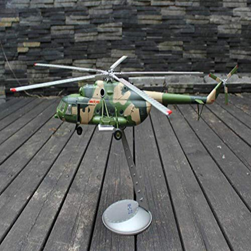 LYXin 1:48 mi-171 Gunship Model Alloy Fertige Flugzeuge Modell Military Tansportation Hubschrauber Modell Geschenk Dekoration -