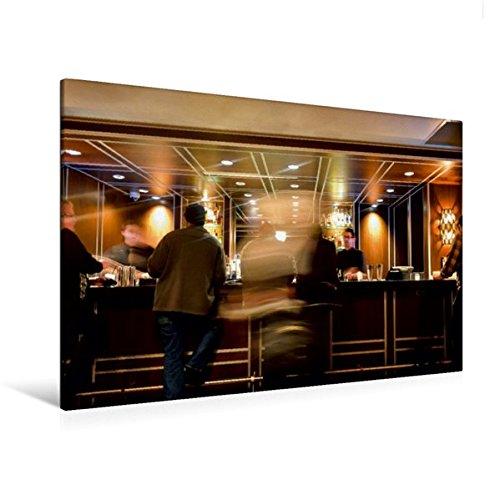 Calvendo Premium Textil-Leinwand 120 cm x 80 cm Quer, VIP Lounge | Wandbild, Bild auf Keilrahmen,...