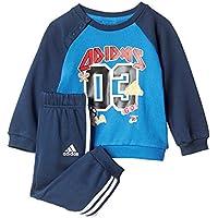 adidas I Sp Terry Jog Chándal, Niños, Azul (Azul / Maruni), 80