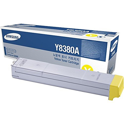 Preisvergleich Produktbild Samsung CLX-Y8380A/ELS Original Toner (Kompatibel mit: CLX-8380ND) gelb