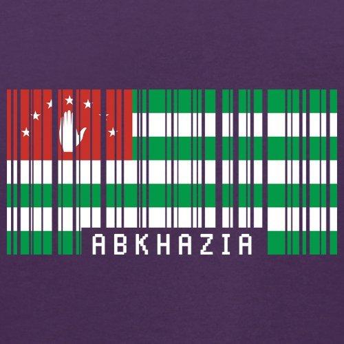 Abkhazia / Abchasien Barcode Flagge - Herren T-Shirt - 13 Farben Lila