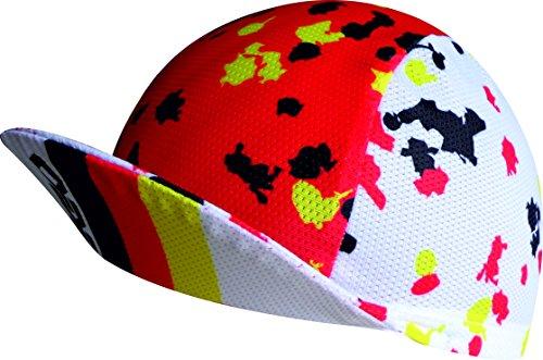 EKEKO SPORT Mikroperforierte Kappe. V-System Radfahren, Trailrunning, Triathlon und Laufen. Einheitsgröße. Germany Farben Design