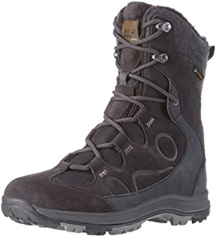 Jack Wolfskin Damen Thunder Bay Texapore High W Trekking-& Wanderstiefel, Schwarz (Phantom 6350), 40 EU