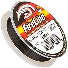 """FireLine Trenzado Hilo de Abalorios humo 6LB 15yd 0,006"""""""