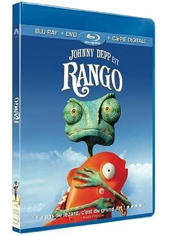 Rango - Combo Blu-ray + DVD + copie digitale (Oscar® 2012 du Meilleur Film d'Animation) [Blu-ray] [Combo Blu-ray + DVD + Copie digitale]
