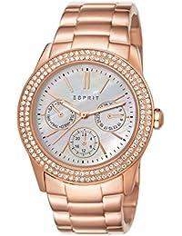 Esprit Damen-Armbanduhr Peony Rose Analog Quarz ES103822014