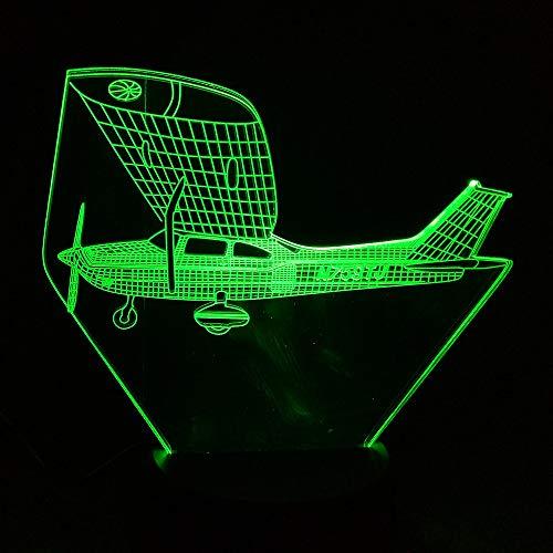 icht Kinderzimmer Dekoration 3d Nachtlicht Schöne Cartoon Kinderspielzeug Farbwechsel Usb Led 3d Licht ## 2 ()