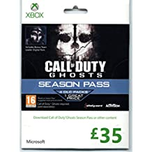 Call of Duty: Ghosts Season Pass £35 Xbox Live Gift Card [Importación Inglesa]