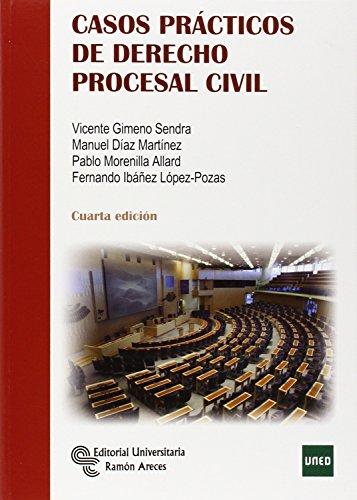 Casos prácticos de Derecho Procesal Civil (Manuales) por Vicente Gimeno Sendra