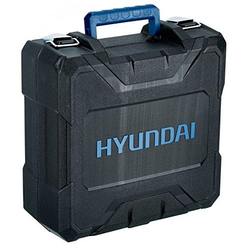 HYUNDAI Akku-Bohrschrauber CD1801LI SET2A 18V im Koffer inkl. 13-teiligem Zubehör - 8