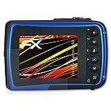 atFoliX Folie für Rollei Sportsline 60 Displayschutzfolie - 3 x FX-Antireflex-HD hochauflösende entspiegelnde Schutzfolie