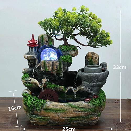 Fontana Feng Shui Con Giardino Zen Sorgente Di Montagna.Fontane Da Tavolo I Migliori Prodotti Nel 2019 Classifica