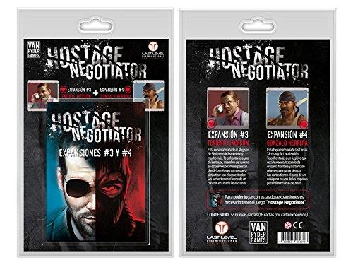 Hostage Negotiator - Expansiones 3 y 4 en castellano - Juego De Mesa