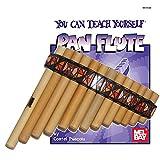 principianti bambù flauto di pan + custodia + guide Book & online audio/video
