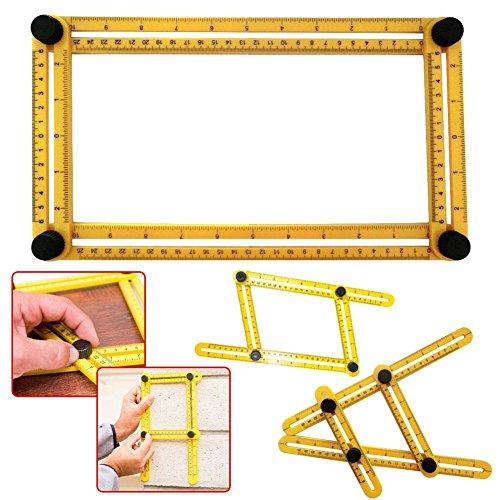 Smartlife Universal Verstellbare Handwerkzeuge Falten Messwerkzeug Multi Angle Scale Lineal