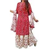 Brask India Women's Rayon Readymade Salwar Suit