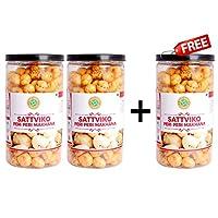 Sattviko Buy Two Get One Free Offer - Peri Peri Lite Snacks Pet Jar (75gm)
