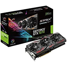 ASUS STRIX-GTX1070-O8G-Gaming Nvidia Geforce GTX 1070 Graphics Card - Black
