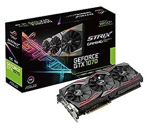 Asus GeForce ROG STRIX-GTX1070-O8G-Gaming Scheda Grafica da 8 GB, GDDR5